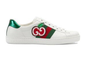 Gucci  Ace GG Apple (W) White (611377 DOPE0 9064)