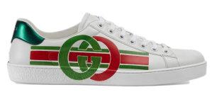 Gucci  Ace Interlocking G White/Green/Red (_576136 A38V0 9062)