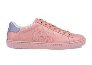 Gucci  Ace Interlocking G Pink (W) Pink/Blue (598527 AYO70 5870)