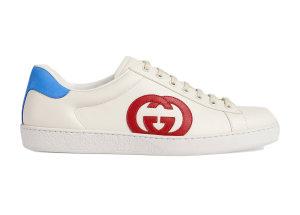 Gucci  Ace Interlocking G Red White/Red/Blue (625783 1XG70 9102)