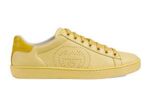 Gucci  Ace Interlocking G Yellow (W) Yellow (598527 AYO70 7460)
