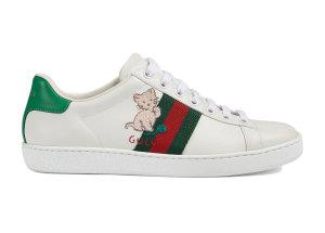 Gucci  Ace Kitten (W) White/Green/Red (630616 1XG60 9114)