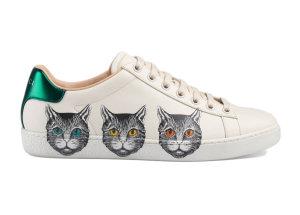 Gucci  Ace Mystic Cat (W) White (577147 A38V0 9090)