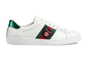 Gucci  Ace Panther White (457131 A38G0 9064)