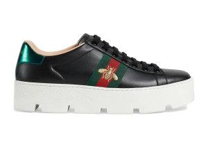 Gucci  Ace Platform Black Black (577573 DOPE0 1061)