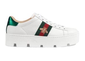 Gucci  Ace Platform White White (577573 DOPE0 9064)