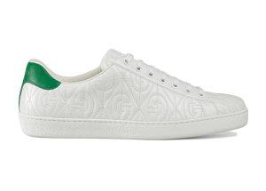 Gucci  Ace Rhombus White (_598833 0R0A0 9063)