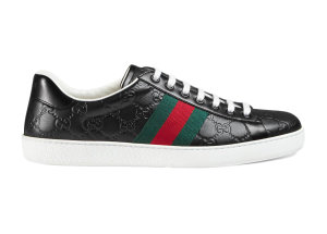 Gucci  Ace Signature Black (386750 CWCG0 1070)