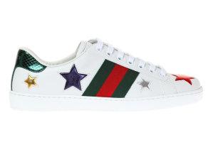 Gucci  Ace Stars White (52502 DOP50 9076)