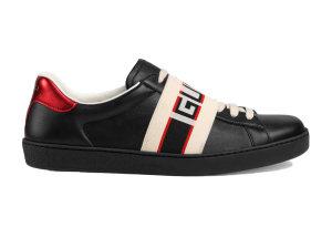 Gucci  Ace Stripe Black Black (523469 0FIV0 1076)