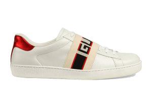 Gucci  Ace Stripe Ivory Ivory (523469 0FIV0 9091)
