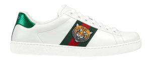 Gucci  Ace Tiger White (457132 A38G0 9064)