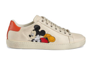Gucci  Ace x Disney Ivory (W) Ivory (_602129 AYO70 9591)