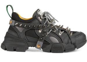 Gucci  Flashtrek Black Spike Black (5766269Y070)