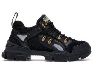 Gucci  Flashtrek SEGA Black Leather Black (543149 GGZ80 1079)