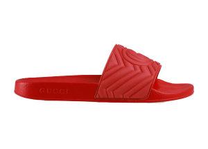 Gucci  Matelasse Slide Red Red (601041 JD600 6639)