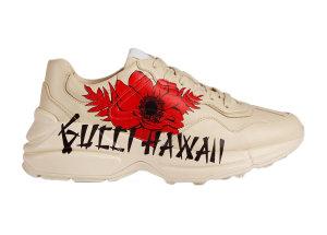 Gucci  Rhyton Hawaii Print (W) Beige/Red/Black (631708 DRW00 9522)