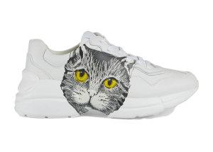 Gucci  Rhyton Mystic Cat White (W) White (583337 DRW00 9014)