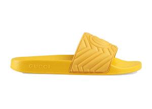 Gucci  Slide Matelasse Yellow Yellow (601041 JD600 7114)