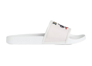 Gucci  Slide Worldwide White (599143 9PYX0 9061)
