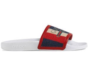 Gucci  Sylvie Logo Red/White (525141 9SP10 9094)