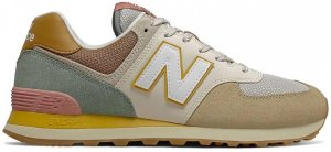 New Balance  574 Brown Beige Brown/Beige (ML574SOT)
