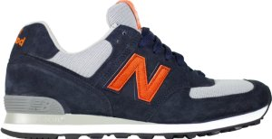 "New Balance  US 574 Burn Rubber ""The Miggy"" Navy/White-Orange (US574M1)"