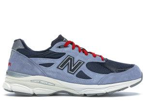 New Balance  990 No Vacancy Inn Light Blue/Navy-Red (US990MC3)