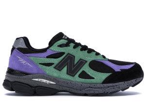New Balance  990v3 Stray Rats Reprise Finale The Joker (2019) Green/Purple-Black (M990SK3)