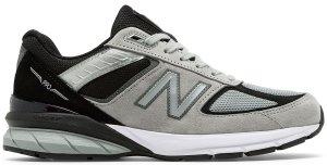 New Balance  990v5 Kool Grey Black Kool Grey/Black (M990GB5)
