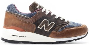 New Balance  997 Elevated Basics Brown/Blue (M997SOC)