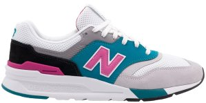 New Balance  997 H South Beach Grey/Pink-Turquoise (CM997HZH)