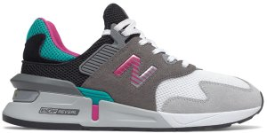 New Balance  997 S South Beach Grey/Pink-Turquoise (MS997JCF)