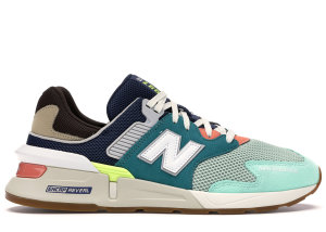 New Balance  997 Sport Teal Brown Team Teal/Neo Mint (MS997JHY)