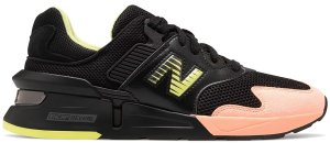 New Balance  997S Kawhi Leonard Sunrise Black/White-Pink-Neon Yellow (MS997KL1)