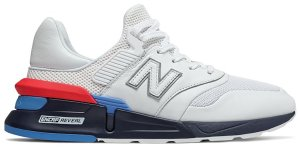 New Balance  997S White Leather White/White (MS997HE)