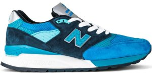 New Balance  998 Fishing Blue Blue/Silver (M998NE)