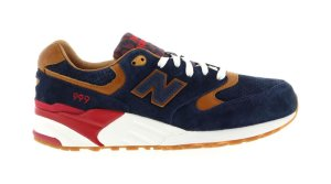 "New Balance  999 Sneaker Politics ""Detectives Curse"" Navy/Tan-Red (ML999SP)"