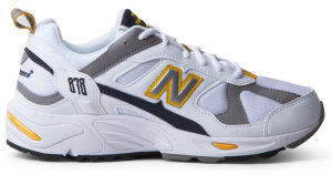 New Balance  CM878 White Grey White/Grey/Yellow (CM878TCA)
