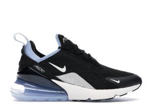 Nike  Air Max 270 Black Aluminum (W) Black/Aluminum-Summit White (AH6789-009)
