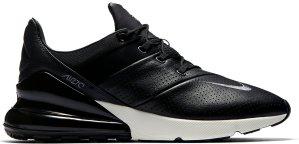 Nike  Air Max 270 Black Metallic Cool Grey Black/Light Carbon-Sail-Metallic Cool Grey (AO8283-001)