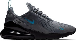 Nike  Air Max 270 Cool Grey Blue Fury Cool Grey/Blue Fury-Black (CD1506-001)