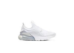 Nike Air Max 270 Extreme White Metallic Silver (GS) White/Metallic Silver/White (CI1108-100)