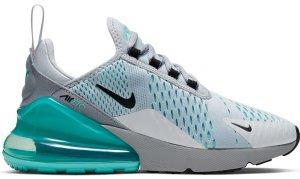 Nike  Air Max 270 Platinum Aurora (W) Pure Platinum/Black-Aurora Green (AH6789-025)