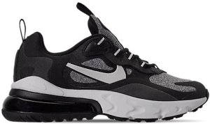 Nike  Air Max 270 React Black Vast Grey (GS) Black/Vast Grey-Off Noir (BQ0103-003)