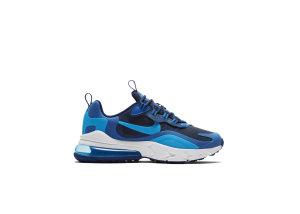 Nike Air Max 270 React Blue Stardust (GS) Blue Void/Coast/Topaz Mist (BQ0103-400)