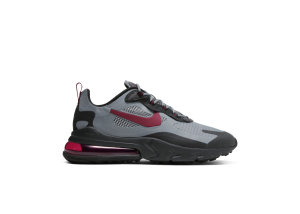 Nike  Air Max 270 React Cool Grey Black/Cool Grey/Noble Red (CT3135-001)
