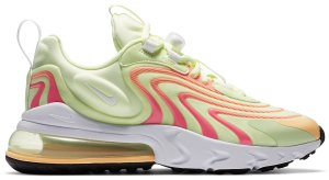 Nike  Air Max 270 React Eng Barely Volt Pink Glow (W) Barely Volt/Pink Glow/Atomic Pink (CW3095-700)