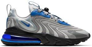 Nike  Air Max 270 React Eng Light Smoke Grey Battle Blue Light Smoke Grey/Smoke Grey-Black-Battle Blue (CJ0579-001)