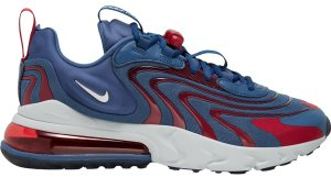 Nike  Air Max 270 React Eng USA Mystic Navy/Cardinal Red-Coastal Blue-Metallic Silver (CT1281-400)